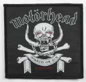 Motorhead - 'March or Die' Woven Patch